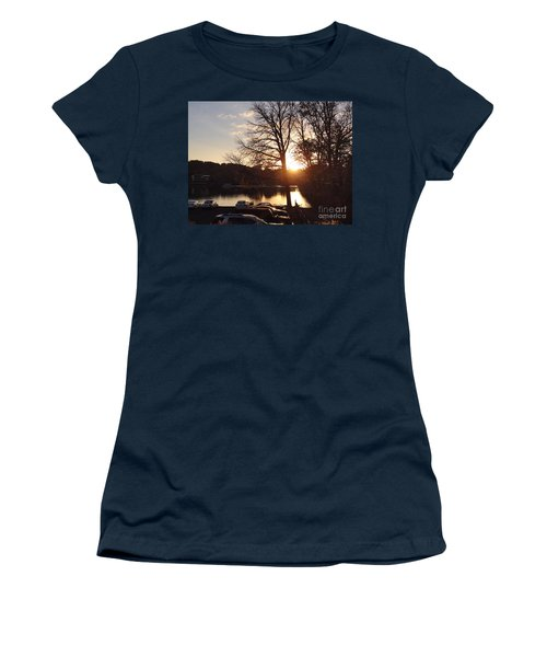 Late Fall At The Station Women's T-Shirt