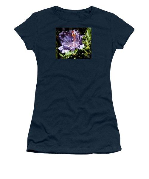 Lavender Hibiscus Women's T-Shirt