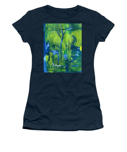 Lemon Willow Women's T-Shirt (Athletic Fit)