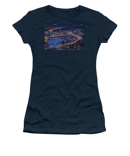Lerez River Pontevedra Galicia Spain Women's T-Shirt (Athletic Fit)