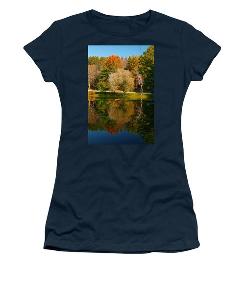 Letchworth Autumn Reflections Women's T-Shirt (Athletic Fit)