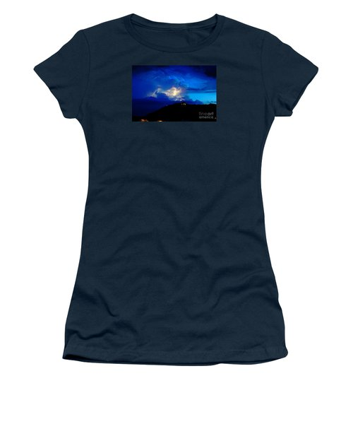 Blue Thunder Women's T-Shirt (Athletic Fit)