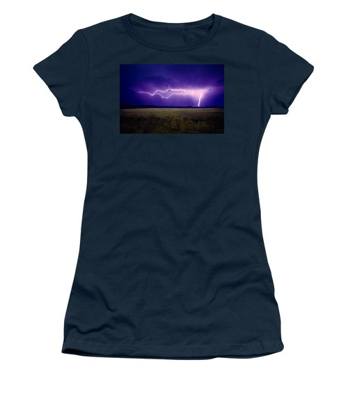 Lightning Serengeti Women's T-Shirt (Athletic Fit)