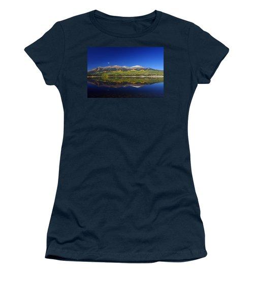 Liquid Mirror Women's T-Shirt (Junior Cut) by Jeremy Rhoades