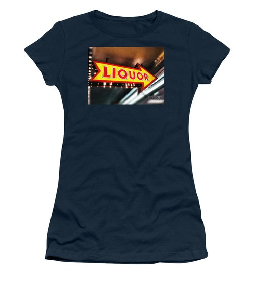 Liquor Store Sign Women's T-Shirt