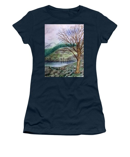 Loch Ard Stirling Overlooking Loch A'ghleannain Women's T-Shirt