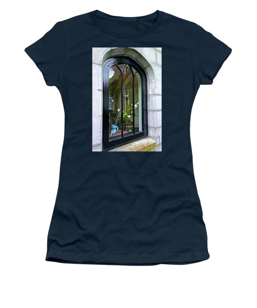 Women's T-Shirt (Junior Cut) featuring the photograph Looking In by Charlie and Norma Brock