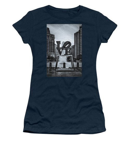 Love Park Bw Women's T-Shirt