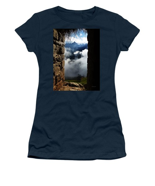 Machu Picchu Peru 4 Women's T-Shirt (Athletic Fit)