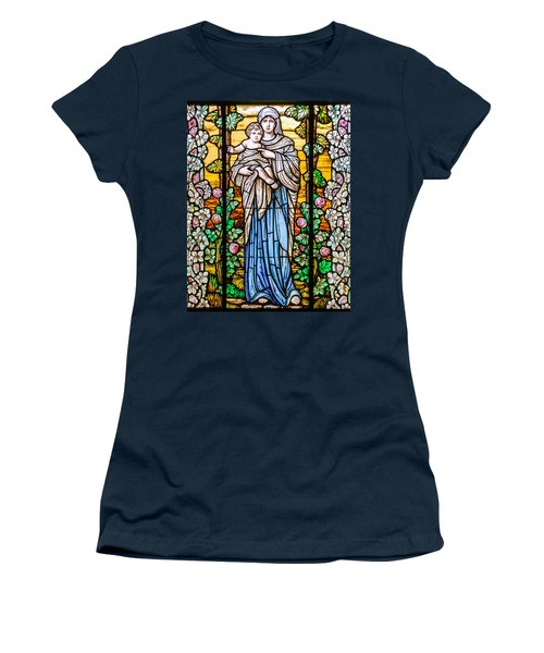 Madonna And Child Women's T-Shirt (Athletic Fit)