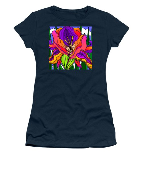 Magical Mystery Garden Women's T-Shirt (Athletic Fit)