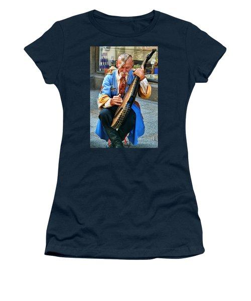 Women's T-Shirt (Junior Cut) featuring the photograph Making A Living by Mariola Bitner