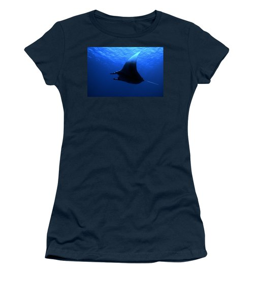 Manta Ray Women's T-Shirt (Athletic Fit)