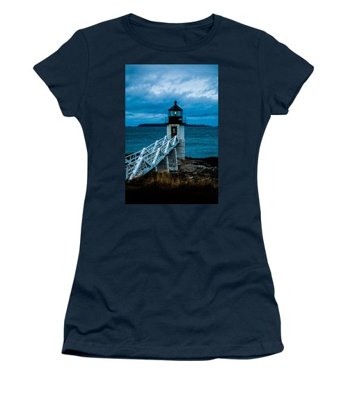 Marshall Point Light At Dusk 1 Women's T-Shirt (Junior Cut)