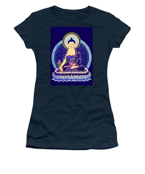 Medicine Buddha 6 Women's T-Shirt (Junior Cut) by Lanjee Chee