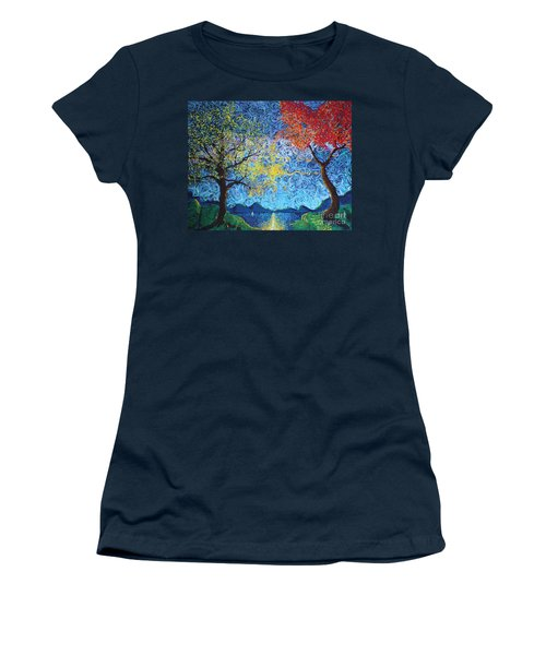 Our Ship Of Dreams Begins To Sail Women's T-Shirt