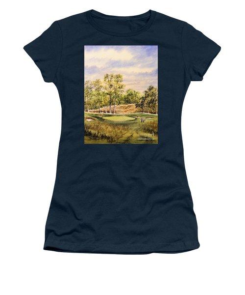 Merion Golf Club Women's T-Shirt (Junior Cut) by Bill Holkham