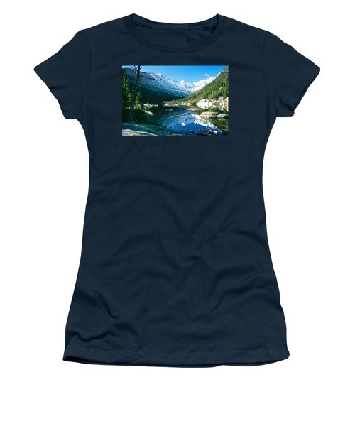 Mills Lake Women's T-Shirt (Junior Cut) by Eric Glaser