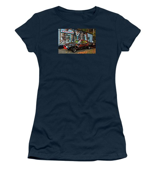 Milltown's Edsel Comet Women's T-Shirt (Athletic Fit)