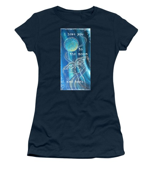 Moon And Back  Women's T-Shirt