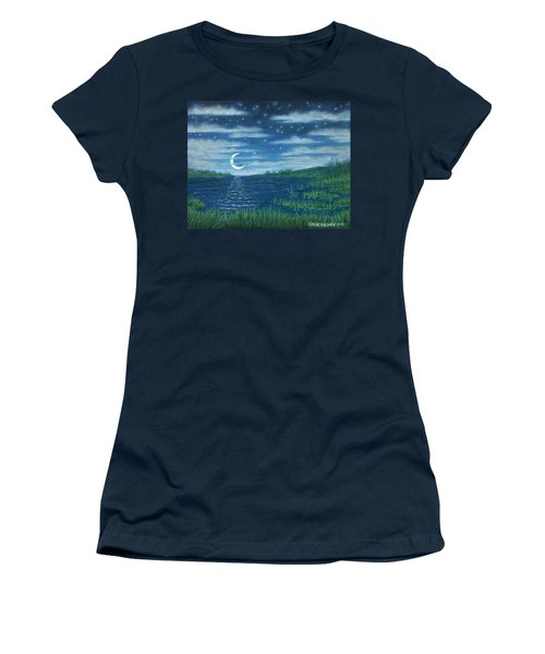 Moonlit Lagoon Women's T-Shirt