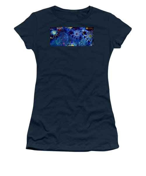 Women's T-Shirt (Junior Cut) featuring the digital art More Things In Heaven And Earth by Casey Kotas
