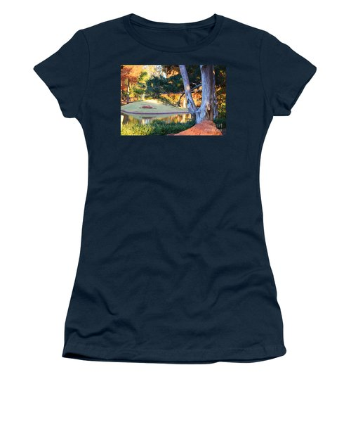 Morning In The Park Women's T-Shirt (Athletic Fit)