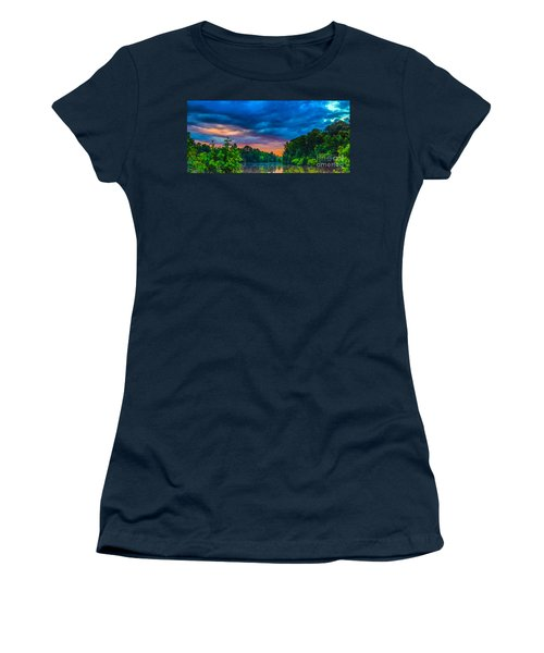 Morning On The Lake Women's T-Shirt