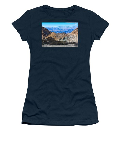 Mosaic Canyon Picnic Women's T-Shirt (Junior Cut) by Stuart Litoff