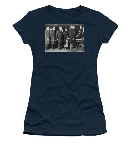 Mrs. Warren Harding Voting Women's T-Shirt