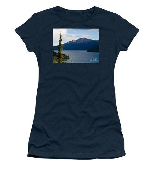 Muncho Lake Women's T-Shirt (Athletic Fit)