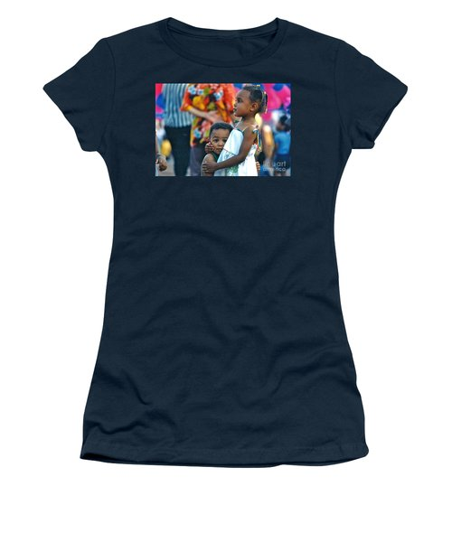 My Brother's Keeper Women's T-Shirt (Junior Cut) by Sean Griffin