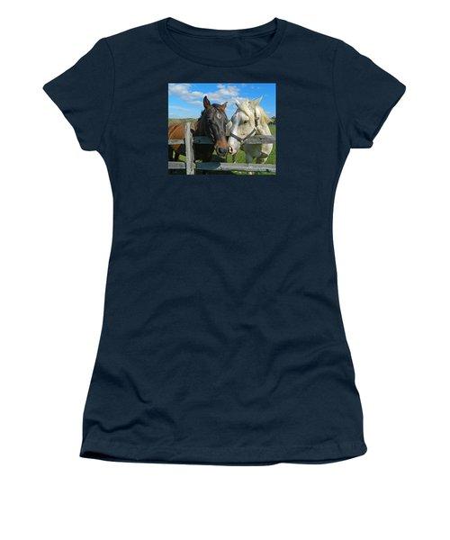 My Buddy Women's T-Shirt (Junior Cut) by Emmy Marie Vickers