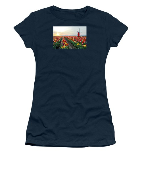 My Touch Of Holland 2 Women's T-Shirt (Athletic Fit)