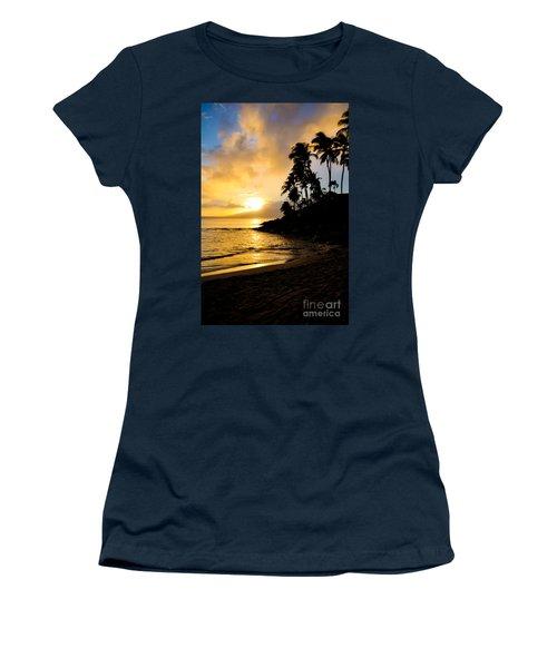 Napili Sunset Evening  Women's T-Shirt (Junior Cut) by Kelly Wade