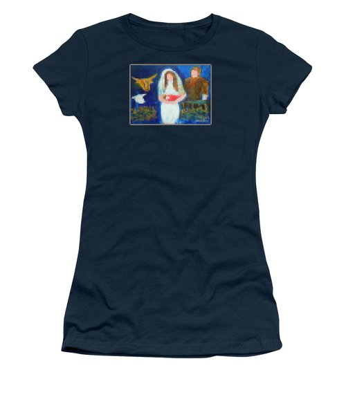 Nativity 1  Women's T-Shirt (Athletic Fit)