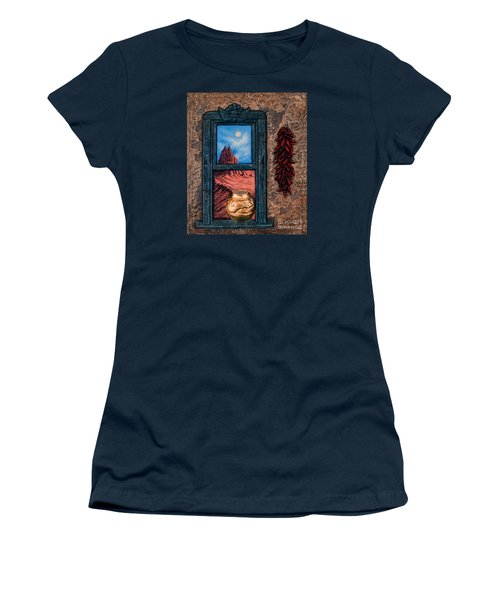 New Mexico Window Gold Women's T-Shirt