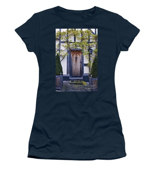 New Photographic Art Print For Sale Doorway 2 In Medieval Lavenham Women's T-Shirt