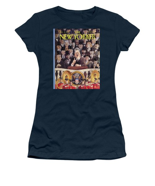 New Yorker January 25th, 1993 Women's T-Shirt