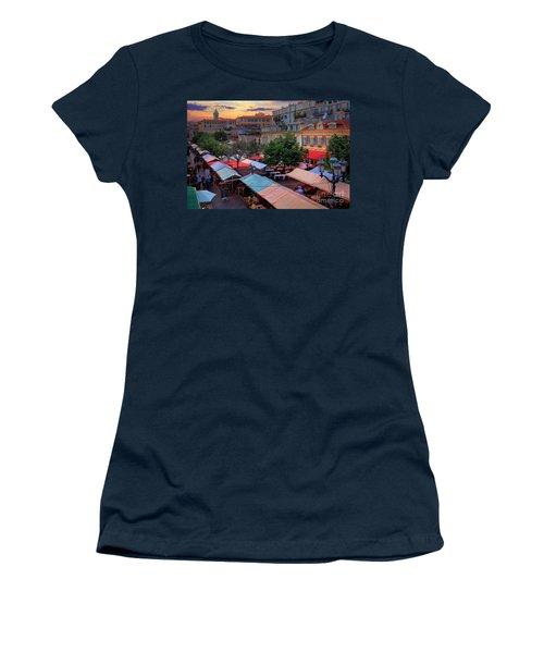 Nice Flower Market Women's T-Shirt
