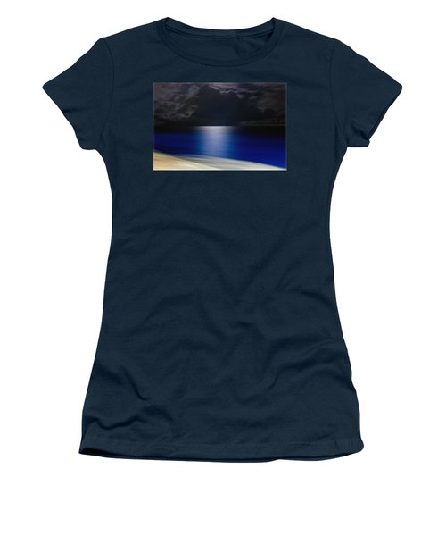 Night And Water Women's T-Shirt (Junior Cut) by Hanny Heim
