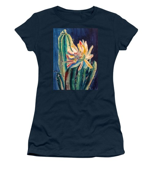 Night Blooming Cactus Women's T-Shirt