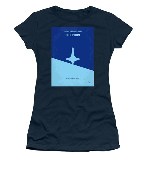 No240 My Inception Minimal Movie Poster Women's T-Shirt