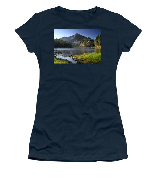 North Face Of Jughandle Mountain Women's T-Shirt