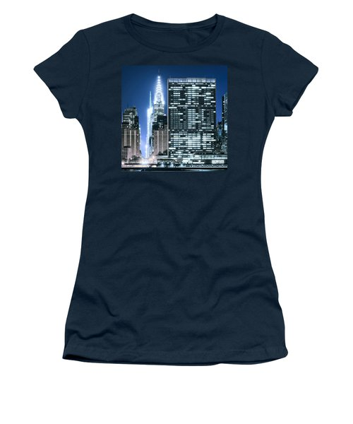 Women's T-Shirt featuring the photograph Ny Sights by Theodore Jones