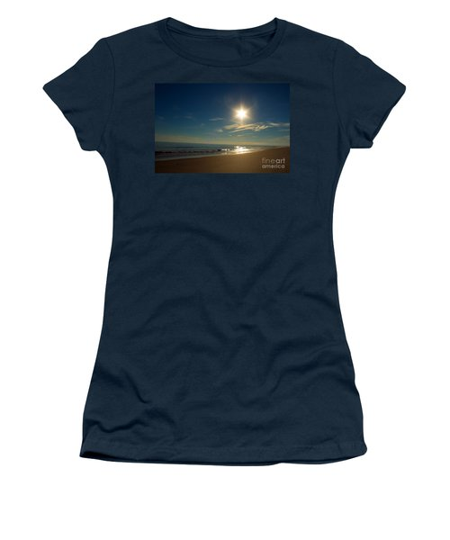 Ocean Isle Beach Sunshine Women's T-Shirt (Athletic Fit)