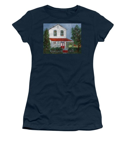 Old Farm House Women's T-Shirt (Junior Cut) by Anna Ruzsan