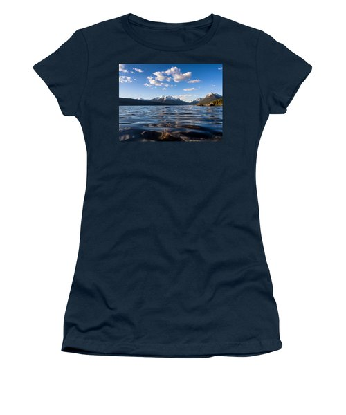 On The Lake Women's T-Shirt (Junior Cut) by Aaron Aldrich