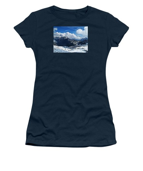 On Top Of Germany Women's T-Shirt (Athletic Fit)
