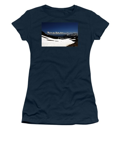On Top Of Paradise Women's T-Shirt (Athletic Fit)